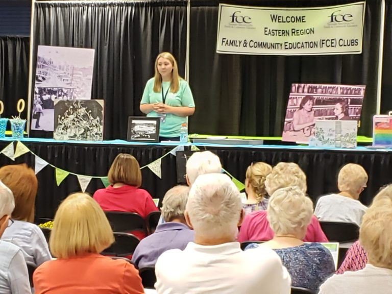 Kristen Bright Guest Speaker FCE Day At The Fair