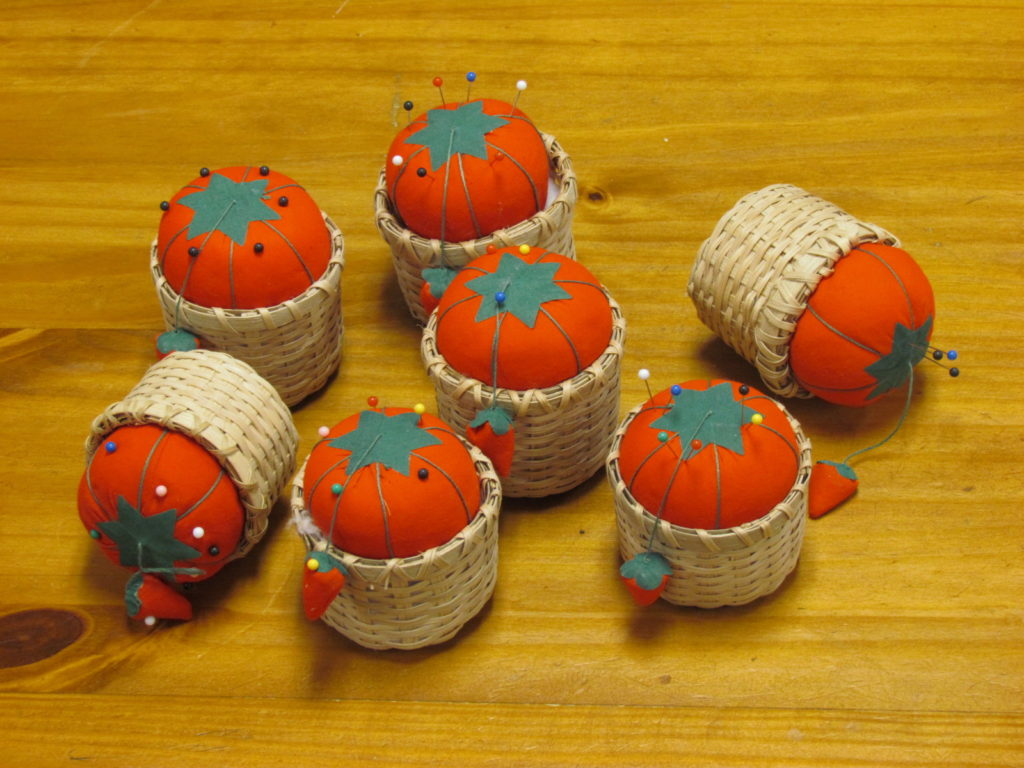Night time project - Pin Cushion Basket